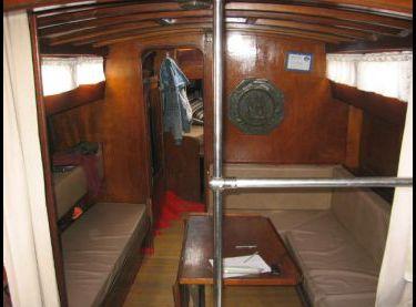 Салон на яхте Конрад 45 - Yachts.ua
