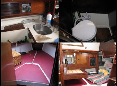 Внутренние помещения на парусной яхте София - Yachts.ua