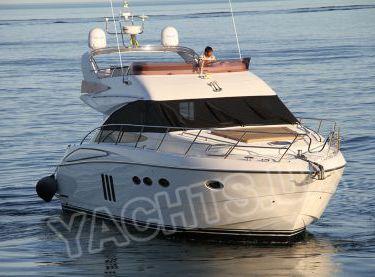 Вид на моторную яхту Принцесс 50 с носовой части - Yachts.ua