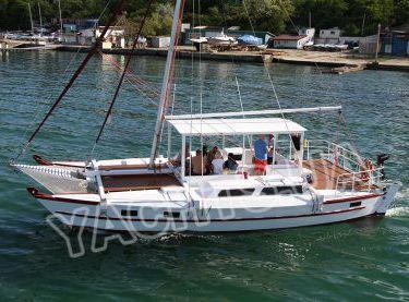 Общий вид парусной яхты Синдбад - Yachts.ua