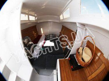 Каюта на катамаране Синдбад - Yachts.ua