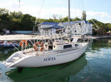 Общий вид парусной яхты София - Yachts.ua