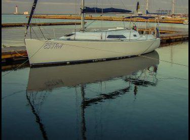 Общий вид парусной яхты Estra - Yachts.ua