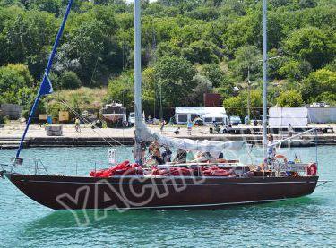 Выход с гостями на прогулку на парусной яхте Конрад 45 - Yachts.ua