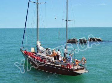 Общий вид парусной яхты Конрад 45 - Yachts.ua