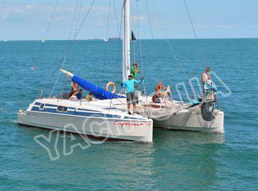 Морская прогулка на катамаране Capriccio - Yachts.ua