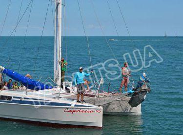 Носовая часть катамарана Capriccio - Yachts.ua