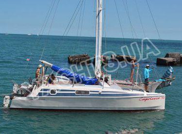 Общий вид парусной яхты Capriccio - Yachts.ua