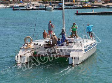 Гости яхты Каприччио на морской прогулке в Одессе - Yachts.ua