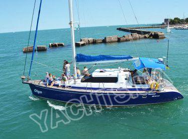 Общий вид парусной яхты Ольга - Yachts.ua