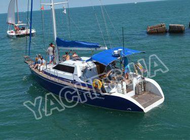 Морская прогулка с гостями на борту на яхте Ольга - Yachts.ua