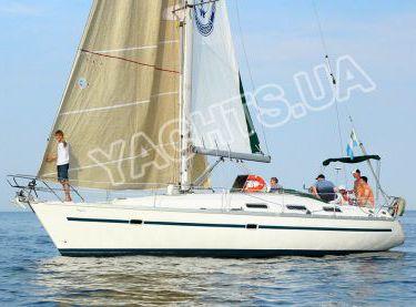 Внешний вид яхты Бавария 38 под парусами - Yachts.ua