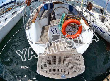 Платформа для купания сзади на яхте Флавия - Yachts.ua