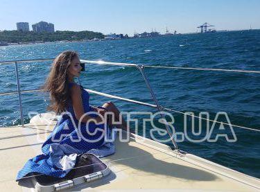 Фотосессия на яхте Contento в Одессе - Yachts.ua