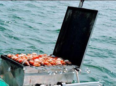Мангал на яхте Contento - Yachts.ua
