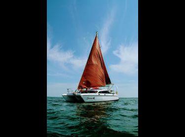 Катамаран Contento в открытом море - Yachts.ua