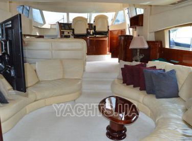 Кают-компания на яхте Fairline 62 - Yachts.ua