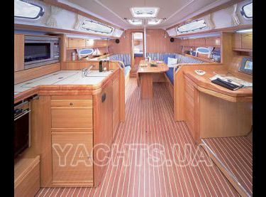 Интерьер парусной яхты Бавария 38 - Yachts.ua