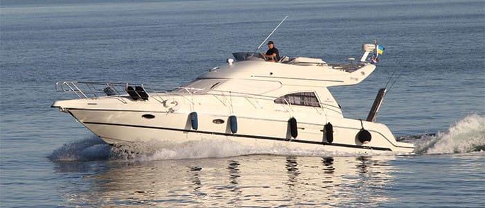 Аренда моторной яхты Cranchi 40 в Одессе - Yachts.ua