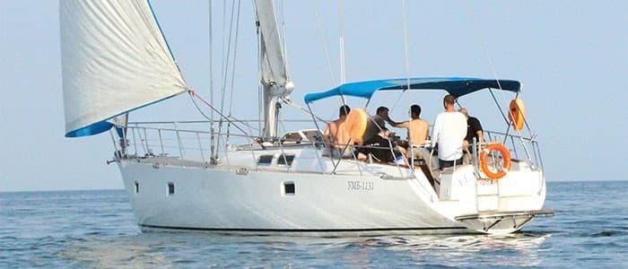 Аренда парусной яхты Флавия в Одессе - Yachts.ua