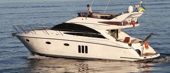 Аренда моторной яхты Princess 50 в Одессе - Yachts.ua