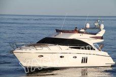 Общий внешний вид моторной яхты Принцесс 50 - Yachts.ua