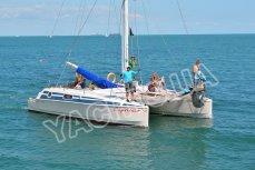 Аренда яхты Каприччио в Одессе - Yachts.ua