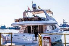 Аренда яхты Royal Life в Одессе - Yachts.ua