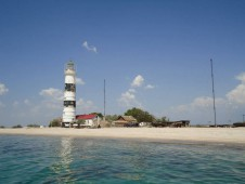 Маяк на острове Тендра - Yachts.ua