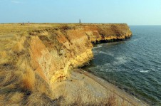 Побережье на острове Березань - Yachts.ua